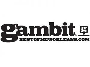 Aimee Freeman endorsed by Gambit Weekly
